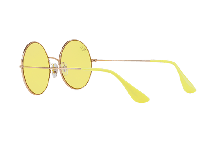 Ray Ban Ja-jo Round Shiny Copper lente Yellow Classic cod. RB3592 9035C9 55 - Image 4