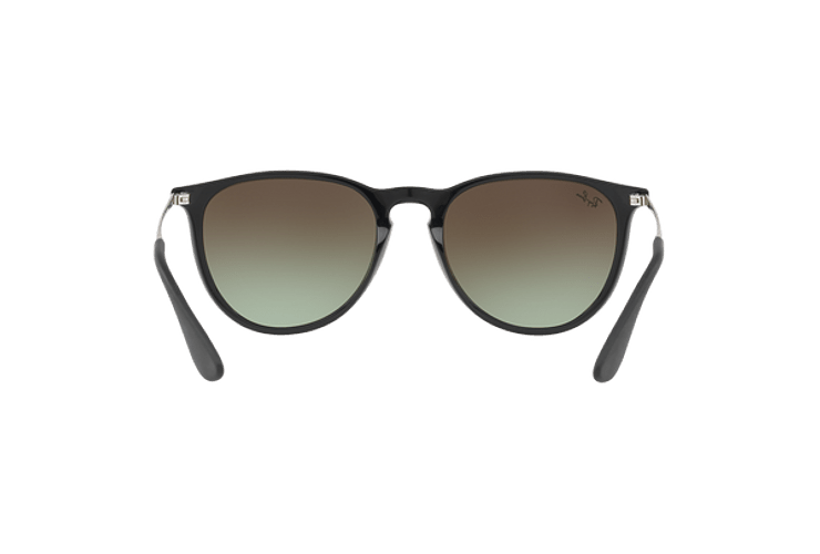 Ray Ban Erika Black / Red lente Green Gradient Brown cod. RB4171 6316E8 54 - Image 6