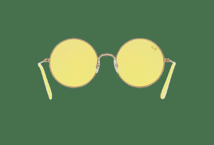 Ray Ban Ja-jo Round Shiny Copper lente Yellow Classic cod. RB3592 9035C9 55 - Image 6
