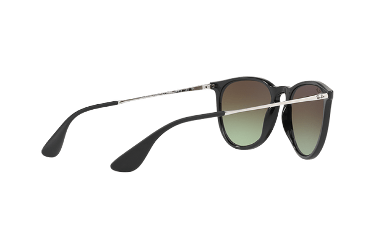 Ray-Ban Erika Black / Red lente Green Gradient Brown cod. RB4171 6316E8 54 - Image 8