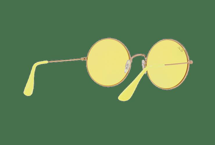 Ray Ban Ja-jo Round Shiny Copper lente Yellow Classic cod. RB3592 9035C9 55 - Image 7