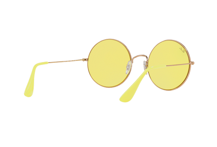 Ray Ban Ja-jo Round Shiny Copper lente Yellow Classic cod. RB3592 9035C9 55 - Image 7
