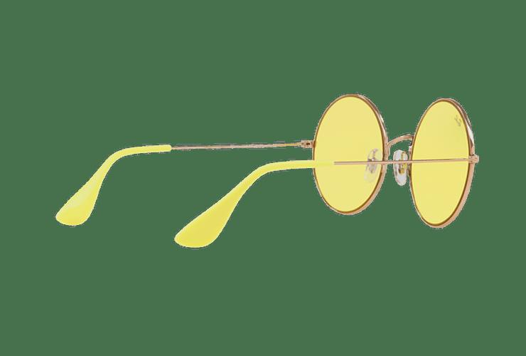 Ray Ban Ja-jo Round Shiny Copper lente Yellow Classic cod. RB3592 9035C9 55 - Image 8