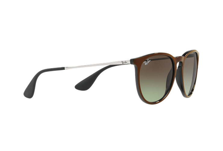 Ray-Ban Erika Black / Red lente Green Gradient Brown cod. RB4171 6316E8 54 - Image 10