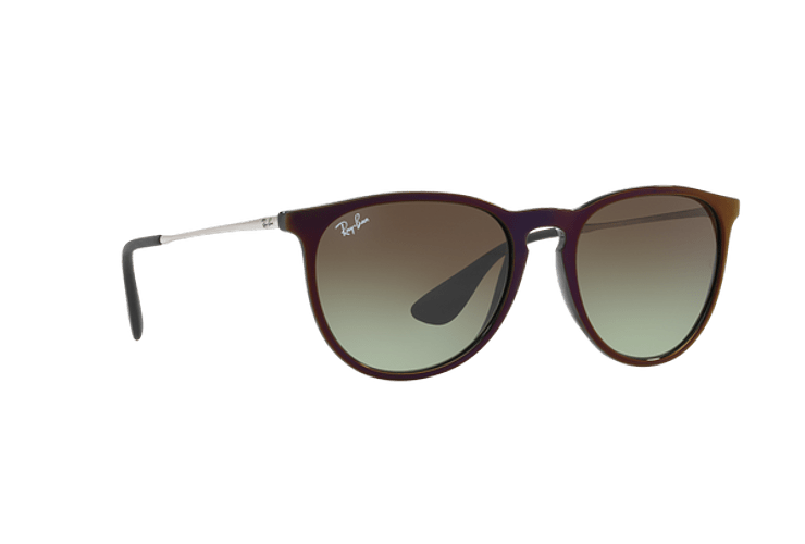 Ray Ban Erika Black / Red lente Green Gradient Brown cod. RB4171 6316E8 54 - Image 11