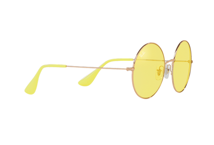 Ray Ban Ja-jo Round Shiny Copper lente Yellow Classic cod. RB3592 9035C9 55 - Image 10