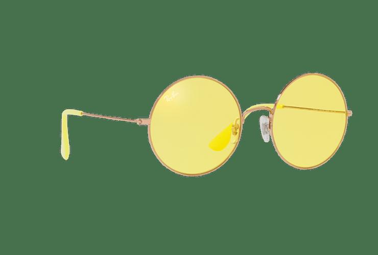 Ray Ban Ja-jo Round Shiny Copper lente Yellow Classic cod. RB3592 9035C9 55 - Image 11