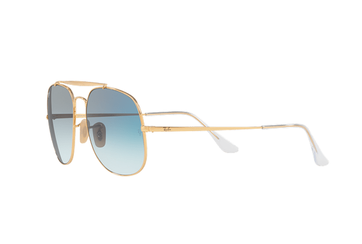 Ray Ban General Gold lente Blue Gradient cod. RB3561 001/3F 57 - Image 2