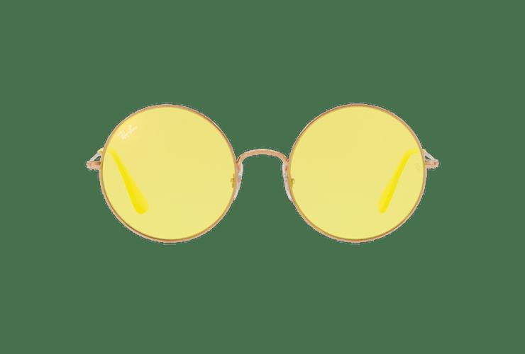 Ray Ban Ja-jo Round Shiny Copper lente Yellow Classic cod. RB3592 9035C9 55 - Image 12