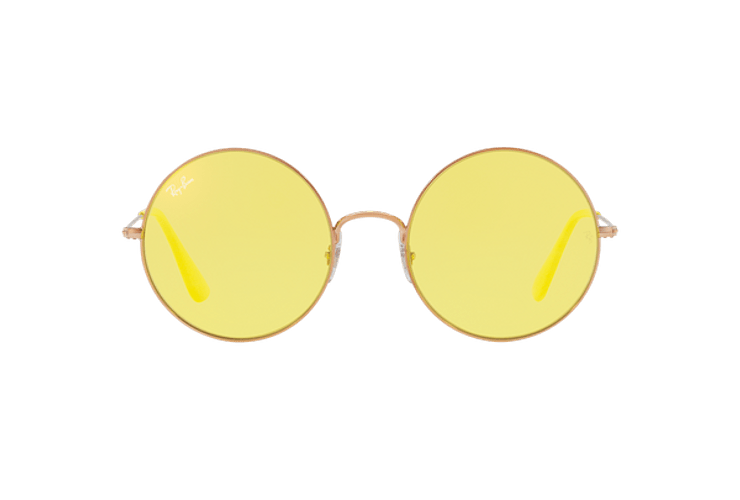 Ray Ban Ja-jo Round Shiny Copper lente Yellow Classic cod. RB3592 9035C9 55 - Image 12