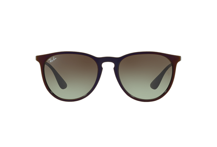 Ray Ban Erika Black / Red lente Green Gradient Brown cod. RB4171 6316E8 54 - Image 12
