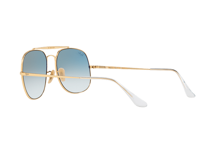 Ray Ban General Gold lente Blue Gradient cod. RB3561 001/3F 57 - Image 4
