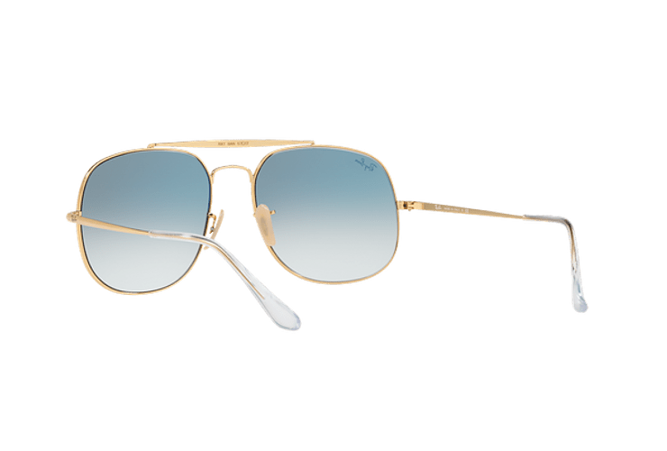 Ray Ban General Gold lente Blue Gradient cod. RB3561 001/3F 57 - Image 5