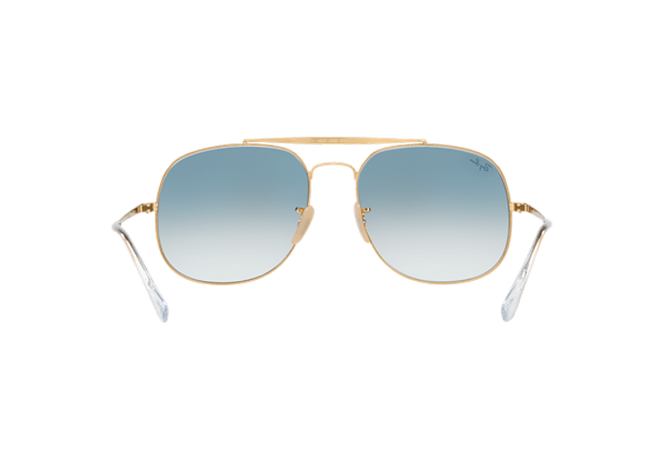Ray Ban General Gold lente Blue Gradient cod. RB3561 001/3F 57 - Image 6