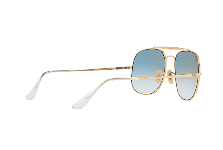 Ray Ban General Gold lente Blue Gradient cod. RB3561 001/3F 57 - Image 8