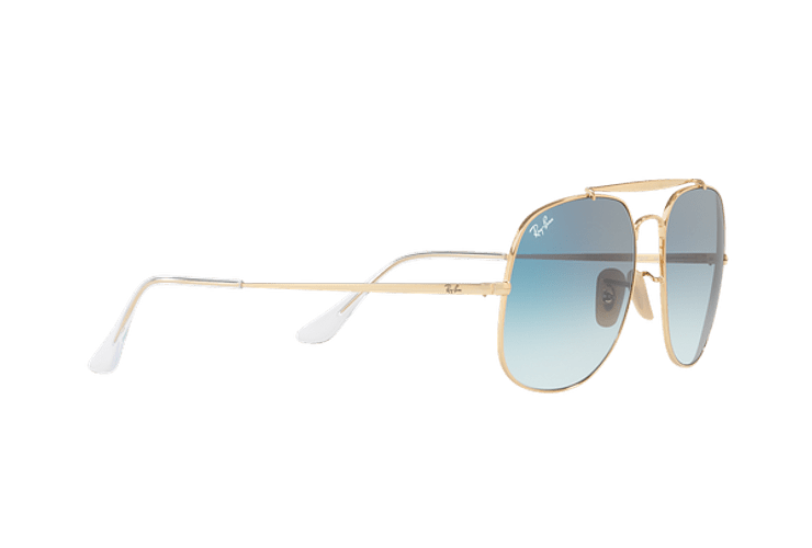 Ray Ban General Gold lente Blue Gradient cod. RB3561 001/3F 57 - Image 10