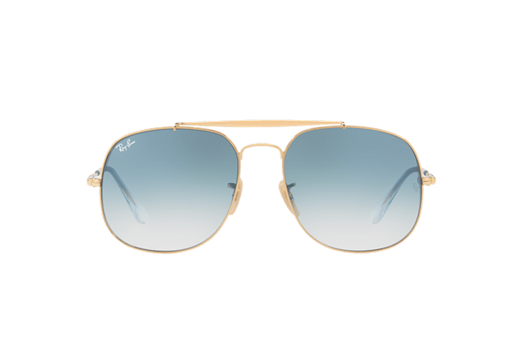 Ray Ban General Gold lente Blue Gradient cod. RB3561 001/3F 57 - Image 12