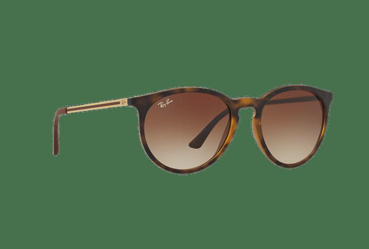 Ray Ban Ovalado RB4274 Light Havana rubber lente Gradient Brown cod. RB4274 856/13 53 - Image 11