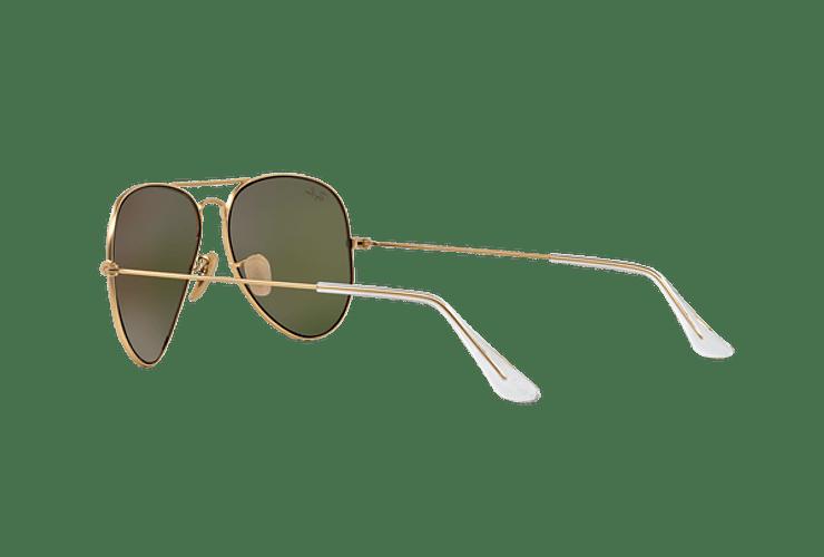 Ray Ban Aviador Matte Gold lente Crystal Mirror Orange cod. RB3025 112/69 62 - Image 4