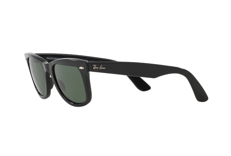 Ray Ban Wayfarer Black lente Crystal Green Polarized cod. RB2140 901/58 54 - Image 2