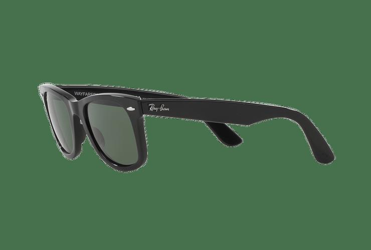 Ray-Ban Wayfarer Black lente Crystal Green Polarized cod. RB2140 901/58 54 - Image 2
