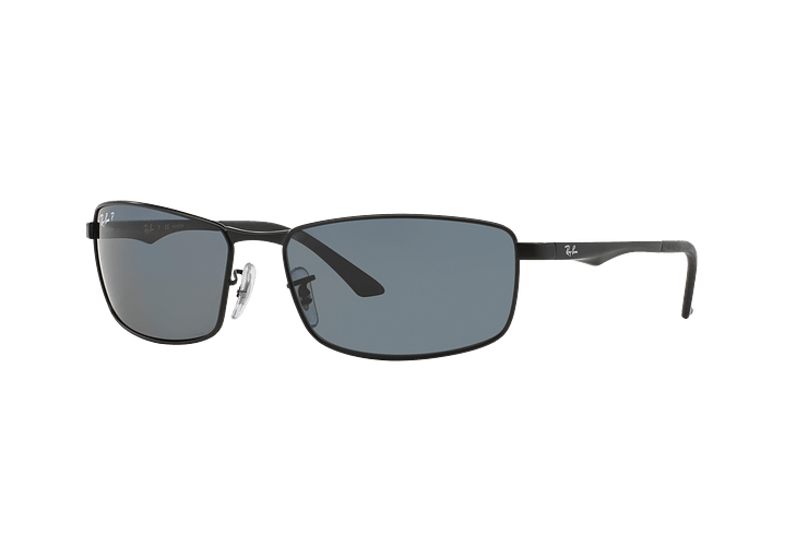 Ray-Ban Active RB3498 Matte Black lente Grey Polarized cod. RB3498 006/81 61 - Image 1