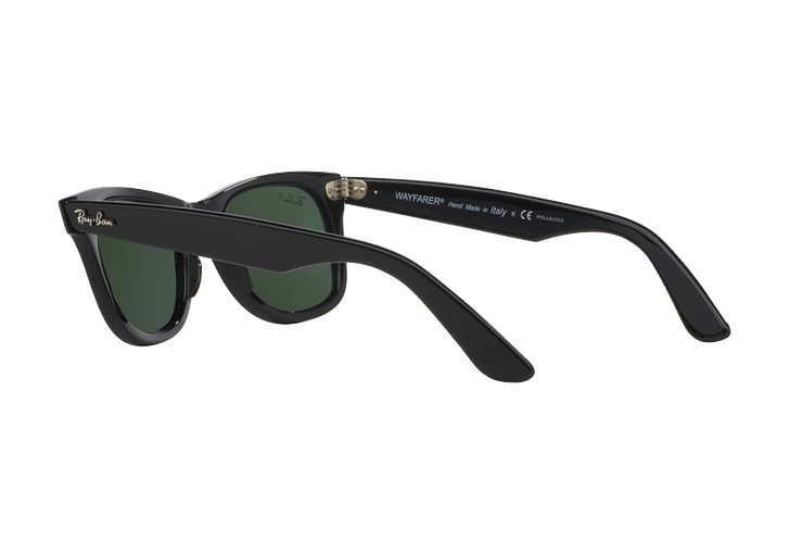 Ray Ban Wayfarer Black lente Crystal Green Polarized cod. RB2140 901/58 54 - Image 4