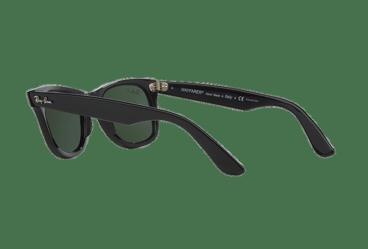 Ray-Ban Wayfarer Black lente Crystal Green Polarized cod. RB2140 901/58 54 - Image 4