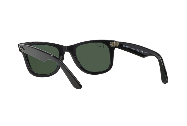 Ray Ban Wayfarer Black lente Crystal Green Polarized cod. RB2140 901/58 54 - Image 5