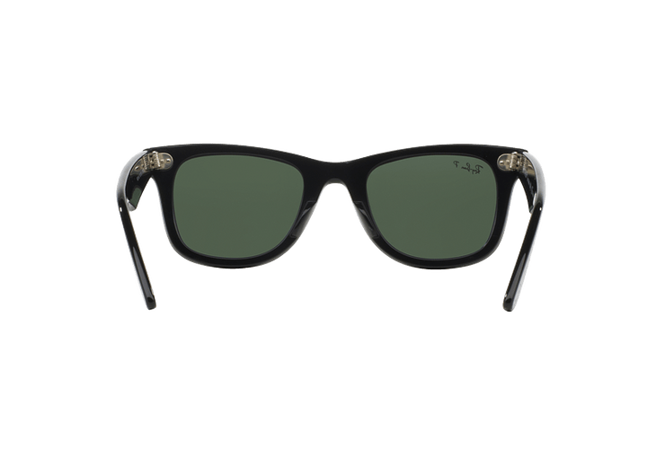 Ray Ban Wayfarer Black lente Crystal Green Polarized cod. RB2140 901/58 54 - Image 6