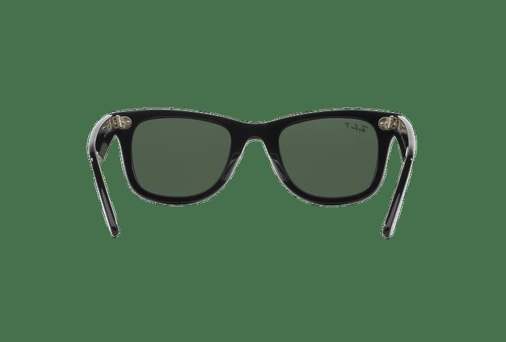 Ray-Ban Wayfarer Black lente Crystal Green Polarized cod. RB2140 901/58 54 - Image 6