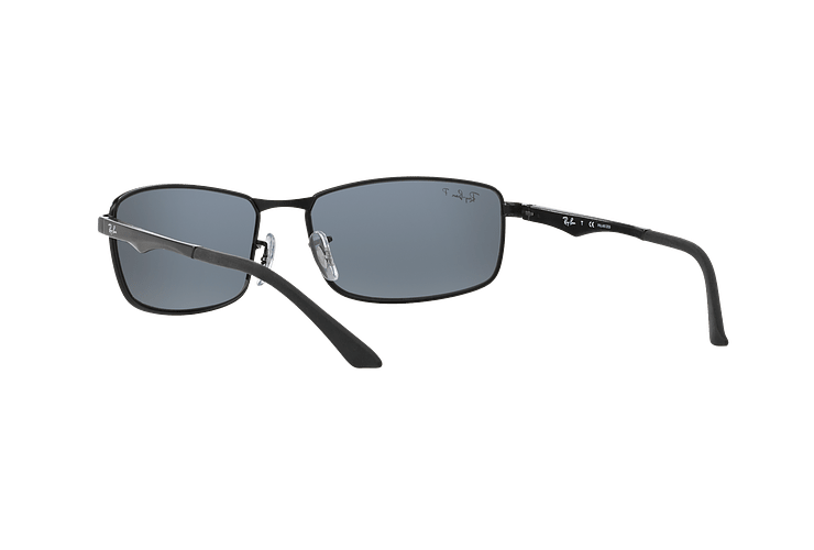 Ray-Ban Active RB3498 Matte Black lente Grey Polarized cod. RB3498 006/81 61 - Image 5