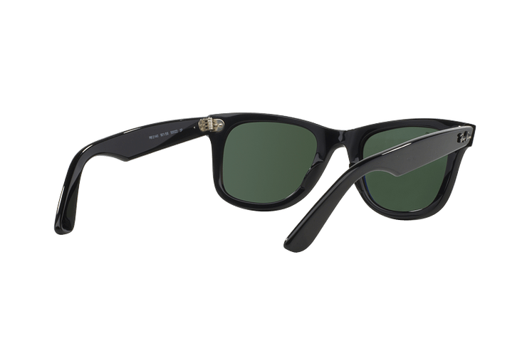 Ray Ban Wayfarer Black lente Crystal Green Polarized cod. RB2140 901/58 54 - Image 7