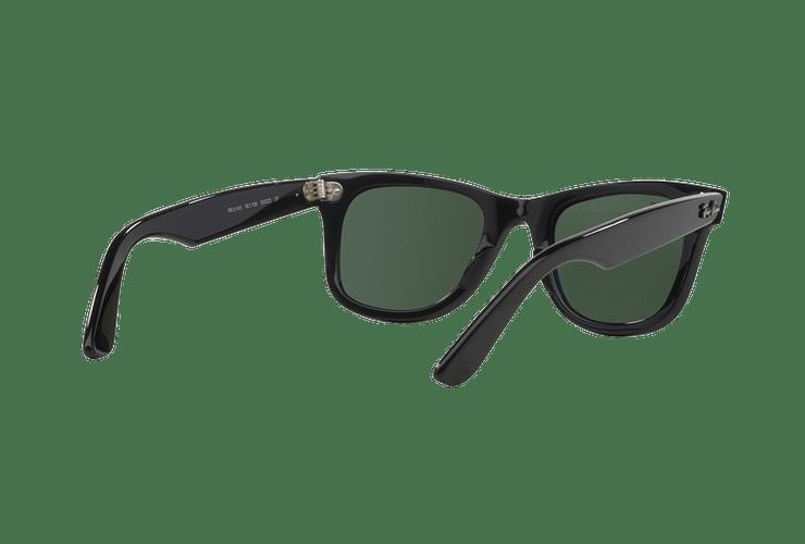 Ray-Ban Wayfarer Black lente Crystal Green Polarized cod. RB2140 901/58 54 - Image 7