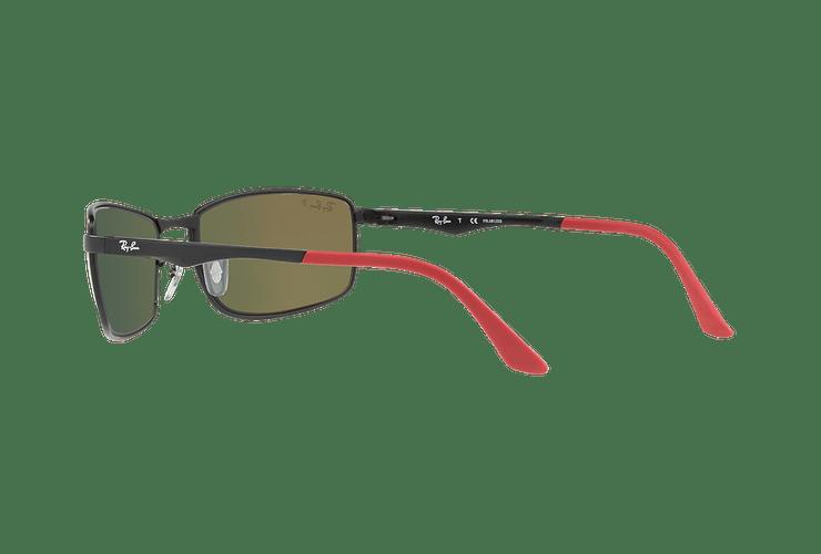 Ray Ban Active RB3498 Ed. Especial Ferrari Matte Black lente Orange Mirror Polarized cod. RB3498 006/6S 61 - Image 4