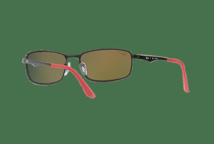 Ray Ban Active RB3498 Ed. Especial Ferrari Matte Black lente Orange Mirror Polarized cod. RB3498 006/6S 61 - Image 5