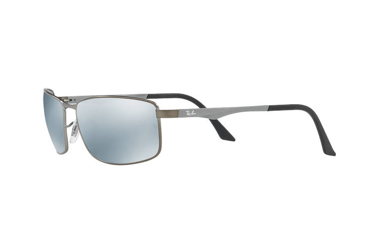 Ray Ban Active RB3498 Matte Gunmetal lente Silver Mirror Polarized cod. RB3498 029/Y4 61 - Image 2