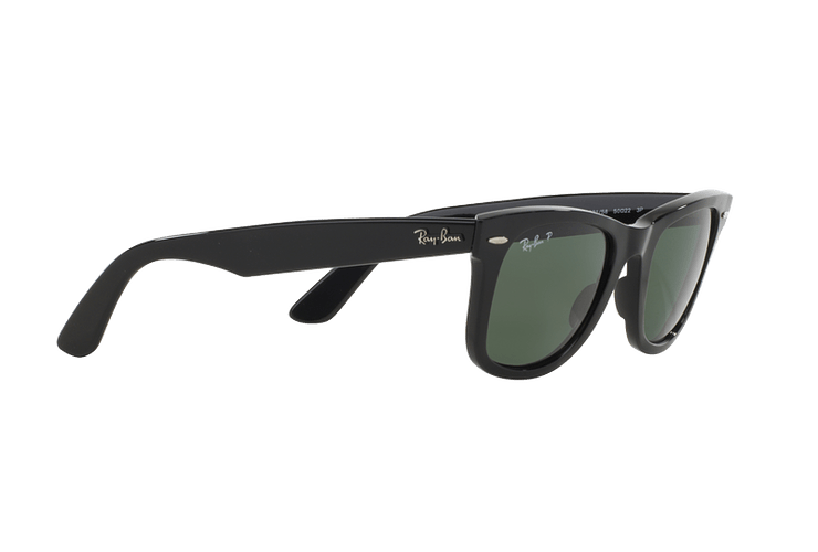 Ray Ban Wayfarer Black lente Crystal Green Polarized cod. RB2140 901/58 54 - Image 10