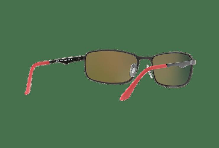 Ray Ban Active RB3498 Ed. Especial Ferrari Matte Black lente Orange Mirror Polarized cod. RB3498 006/6S 61 - Image 7