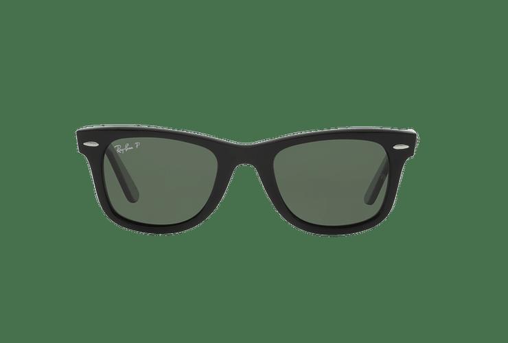 Ray-Ban Wayfarer Black lente Crystal Green Polarized cod. RB2140 901/58 54 - Image 12