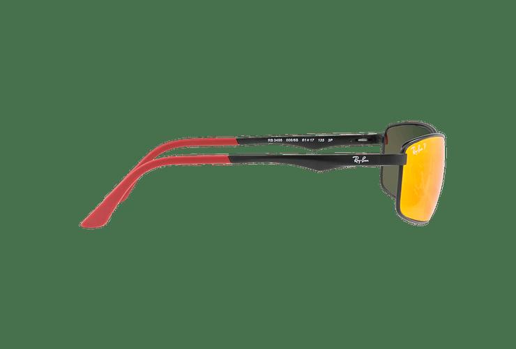 Ray Ban Active RB3498 Ed. Especial Ferrari Matte Black lente Orange Mirror Polarized cod. RB3498 006/6S 61 - Image 9