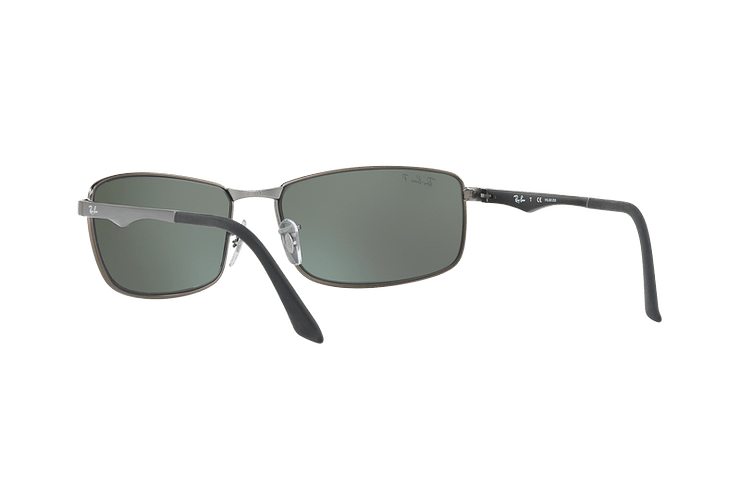 Ray Ban Active RB3498 Matte Gunmetal lente Silver Mirror Polarized cod. RB3498 029/Y4 61 - Image 5