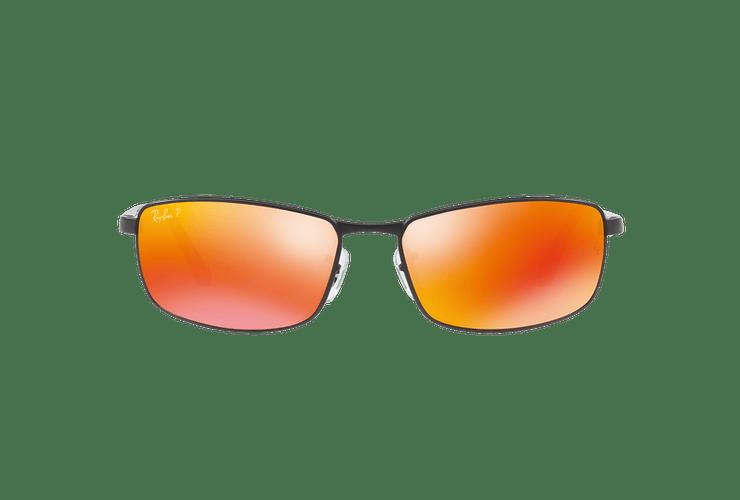 Ray Ban Active RB3498 Ed. Especial Ferrari Matte Black lente Orange Mirror Polarized cod. RB3498 006/6S 61 - Image 12