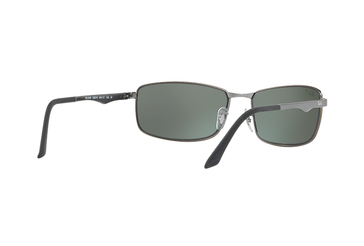 Ray Ban Active RB3498 Matte Gunmetal lente Silver Mirror Polarized cod. RB3498 029/Y4 61 - Image 7