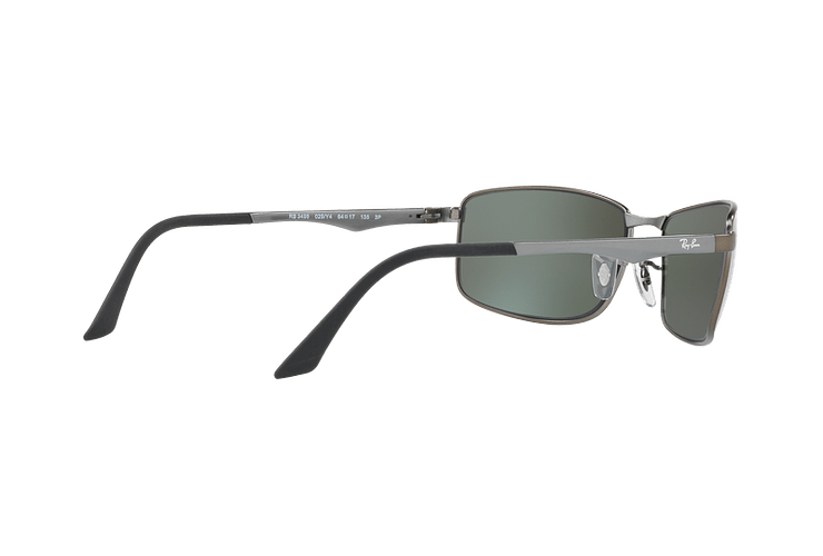 Ray Ban Active RB3498 Matte Gunmetal lente Silver Mirror Polarized cod. RB3498 029/Y4 61 - Image 8