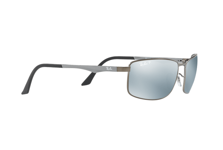 Ray Ban Active RB3498 Matte Gunmetal lente Silver Mirror Polarized cod. RB3498 029/Y4 61 - Image 10