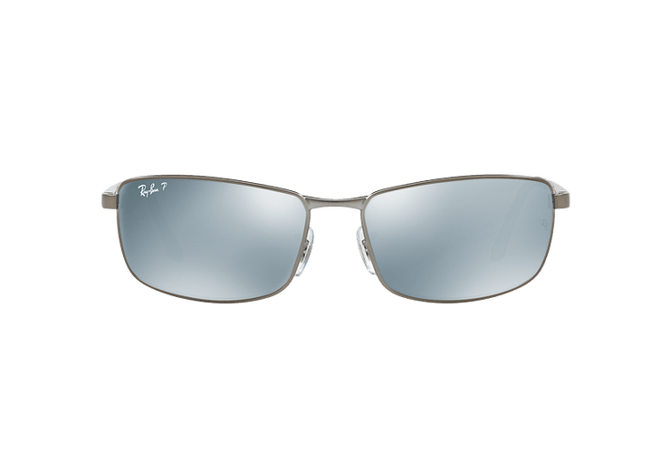 Ray Ban Active RB3498 Matte Gunmetal lente Silver Mirror Polarized cod. RB3498 029/Y4 61 - Image 12