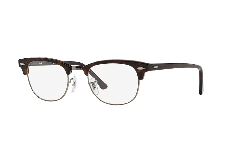 Armazón óptico Ray Ban Clubmaster RX5154 Dark Havana cod. RX5154 2012 49 - Image 1