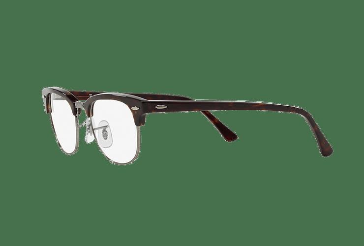 Armazón óptico Ray Ban Clubmaster RX5154 Dark Havana cod. RX5154 2012 49 - Image 2