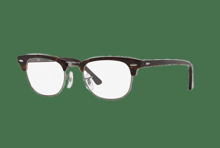 Armazón óptico Ray Ban Clubmaster RX5154 Dark Havana cod. RX5154 2012 51 - Image 1